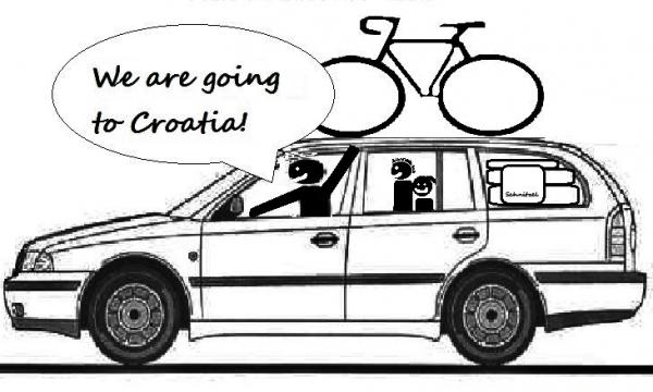 Detail návrhu We are going to Croatia