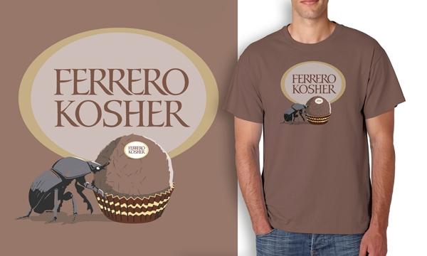 Detail návrhu FERRERO KOSHER