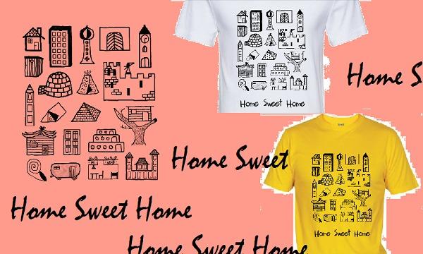 Detail návrhu Home Sweet Home