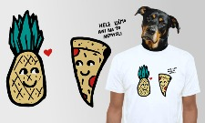 Pizza a ananas