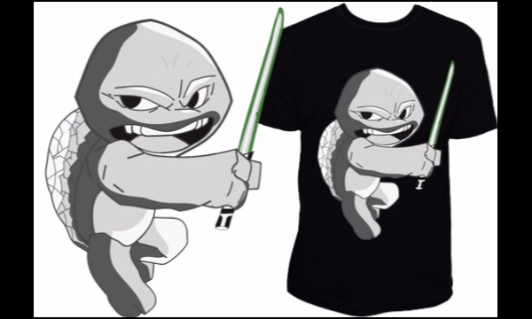 Detail návrhu Mr. Turtle