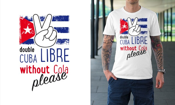 Detail návrhu Cuba Libre