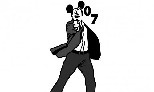 Detail návrhu mickey 007