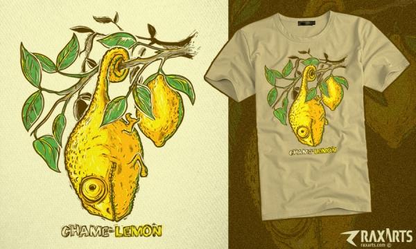 Detail návrhu Chame-lemon