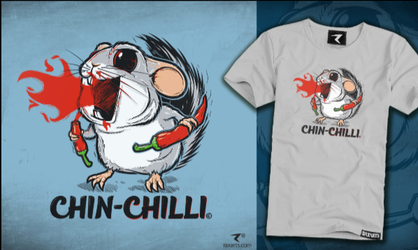 Detail návrhu Chin-Chilli