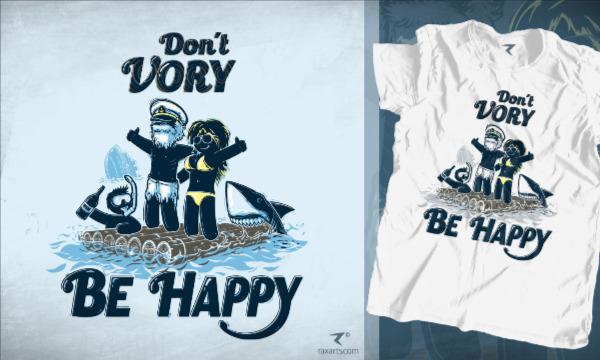Detail návrhu Dont Vory, Be Happy