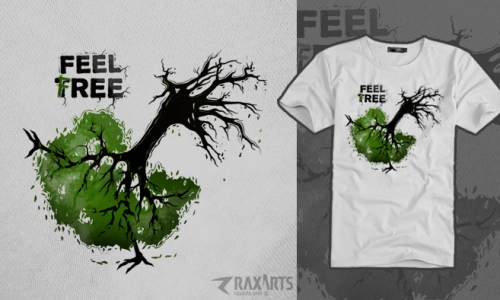 Detail návrhu Feel Tree/Free