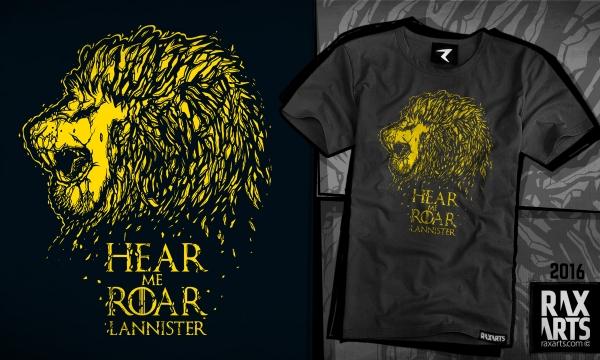 Detail návrhu GoT - Lannister