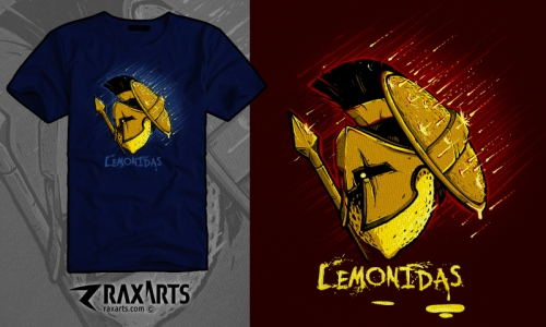 Detail návrhu Lemonidas Vol.02
