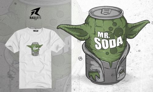Detail návrhu Master Soda