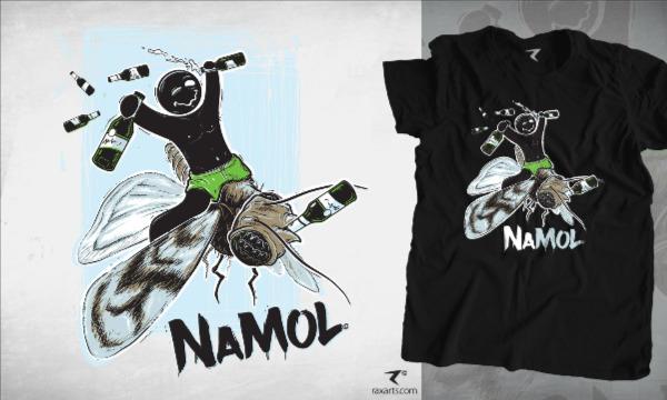 Detail návrhu NAMOL