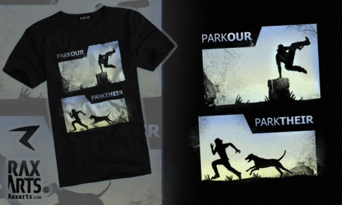 Detail návrhu Parkour/Parktheir