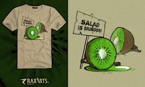 Detail návrhu Salát je vražda!