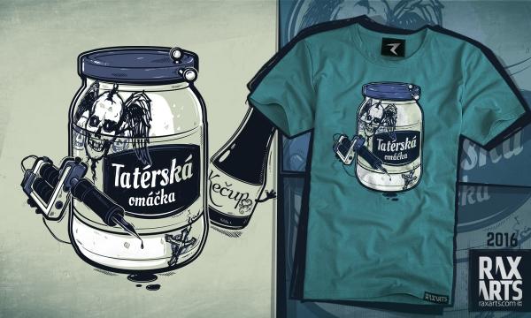 Detail návrhu Tatérská omáčka