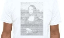ASCII Mona Lisa