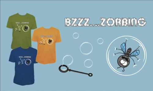 Detail návrhu BZZZ...ZORBING