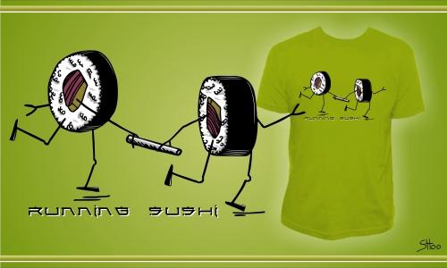 Detail návrhu RUNNING SUSHI