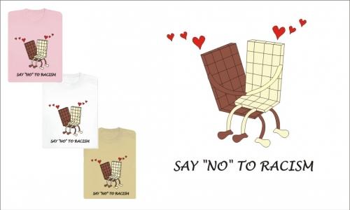 Detail návrhu Say NO to racism