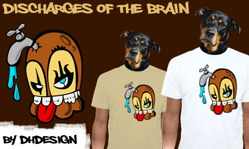 Detail návrhu discharges of the brain