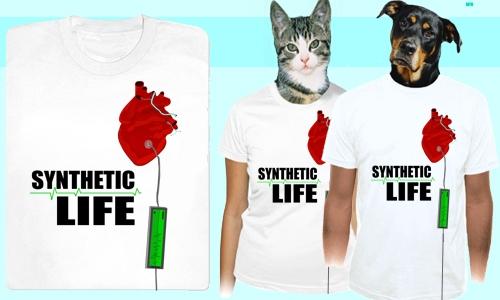 Detail návrhu Synthetic life