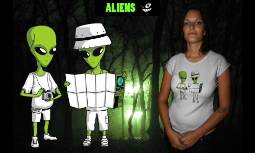Detail návrhu Aliens