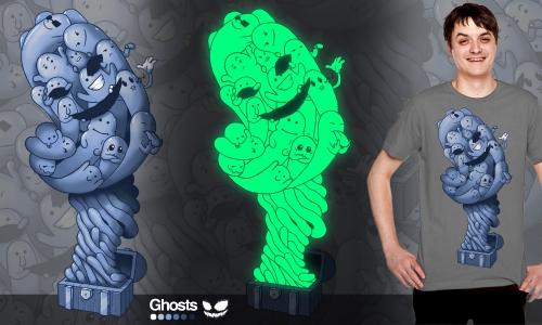 Detail návrhu Ghosts