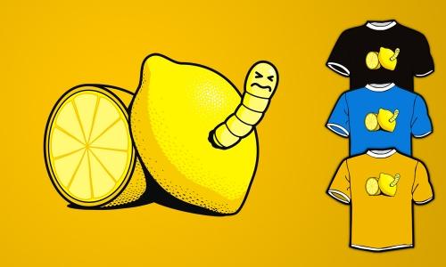 Detail návrhu lemon & worm