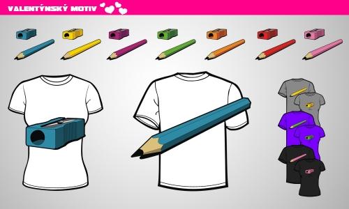 Detail návrhu pencil & sharpener