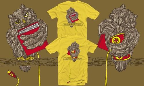 Detail návrhu Chytrá sova