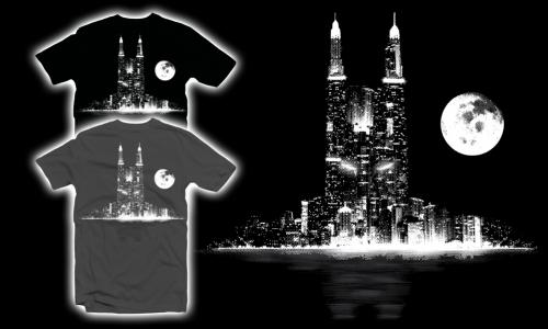 Detail návrhu Gotham City
