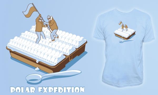 Detail návrhu Polar(ková) expedition