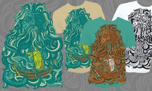 Detail návrhu Poseidon