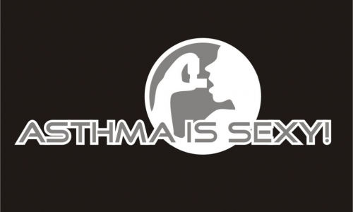 Detail návrhu Asthma is sexy