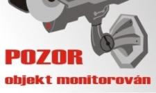 objekt monitorován