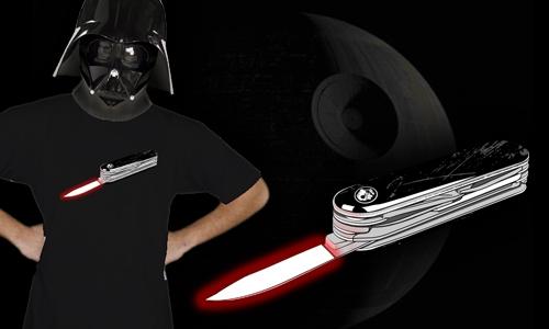 Detail návrhu Star Knife