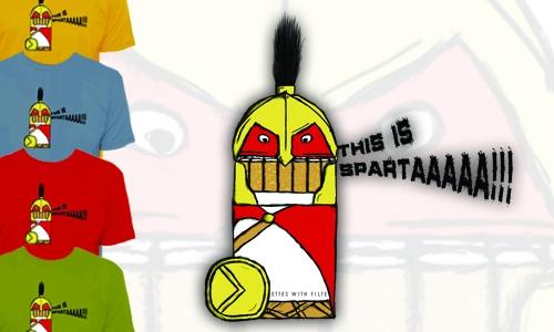 Detail návrhu This is SPARTAAAA!!!
