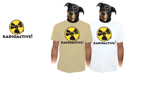 Detail návrhu Radioaktivní