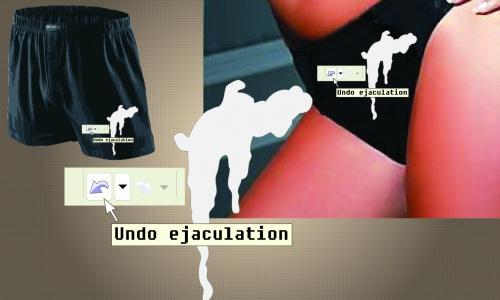 Detail návrhu Undo ejaculation