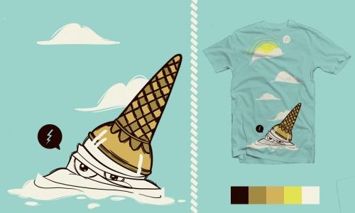 Detail návrhu Die ice-cream, die!