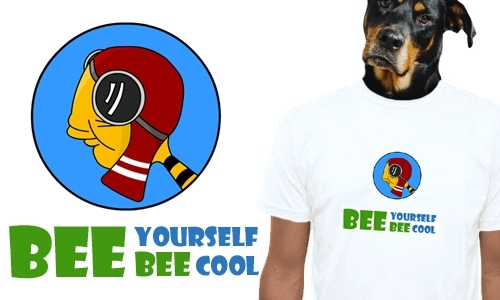 Detail návrhu BEE yourself, BEE cool