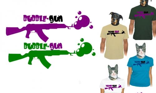 Detail návrhu Bubble-Gun