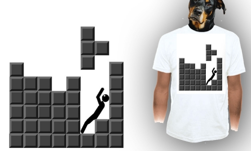 Detail návrhu Tetris 2