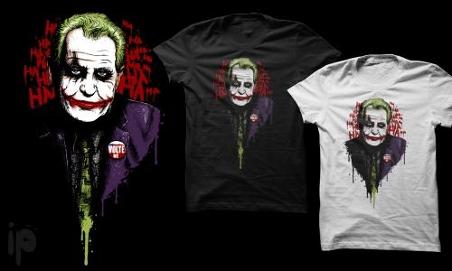 Detail návrhu Joker Zeman