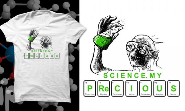 Detail návrhu Milášek věda