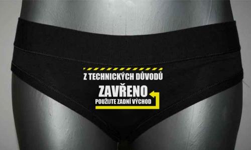 Detail návrhu Zavřeno kalhotky