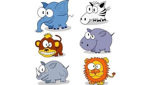 Detail návrhu Animals