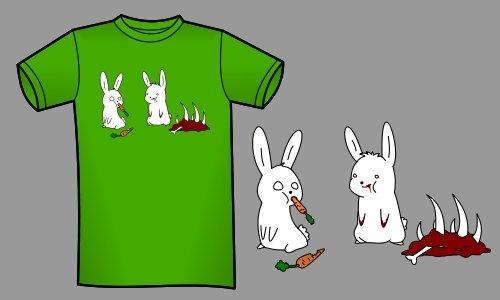 Detail návrhu Bloody bunny