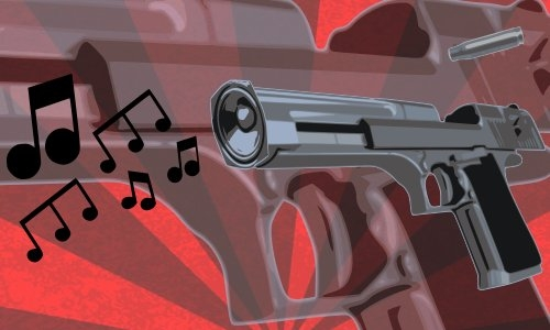 Detail návrhu Music shot