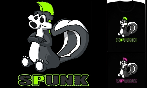 Detail návrhu Spunk