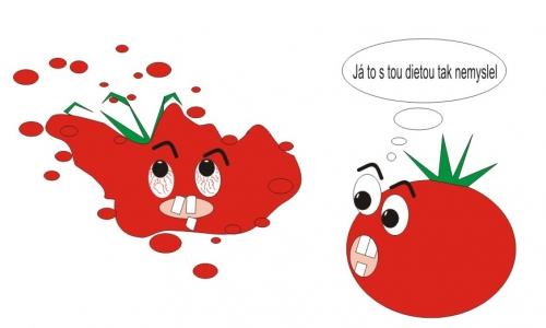 Detail návrhu dietní rajče